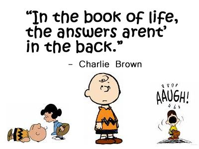 Charlie Brown Says It Best Charlie Brown Charlie Brown