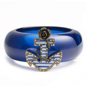 *: Bracelet, Anchor Bangle, Fashion, Nautical Stuff, Navy Anchor, Anchors Nautical, Bangles, Betsey Johnson
