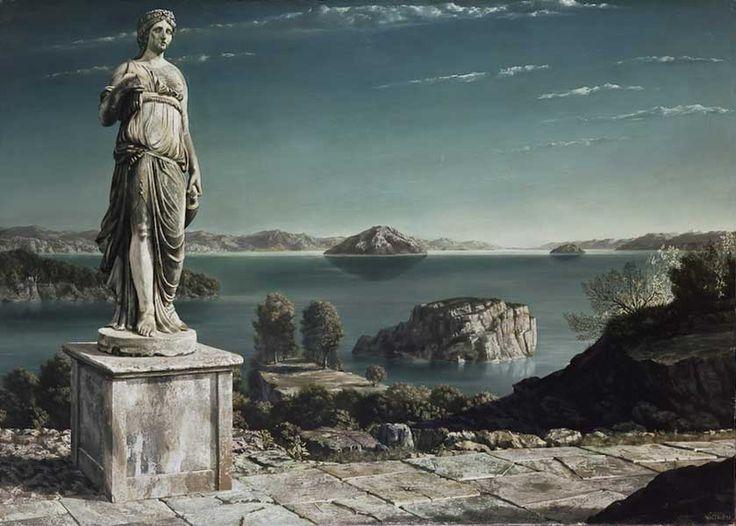 Arcadisch landschap [1935] -  Carel Willink