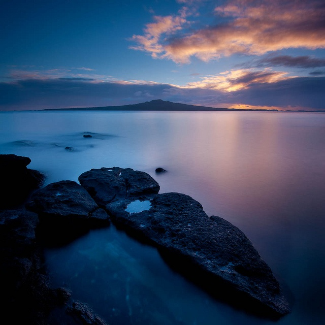 Rangitoto Island,  Auckland, New Zealand.