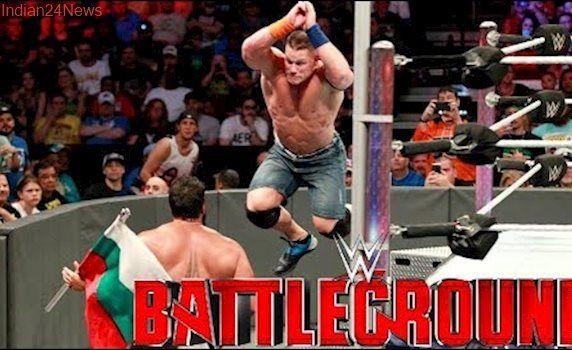 John Cena vs Rusev Flag Match WWE Battleground 2017 : WWE Battleground Highlights 23 July 2017