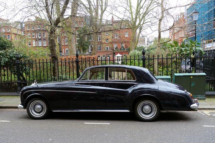 Rolls Royce Silver Cloud III. #rollsroyce #kensington #cars #biler #carspotting