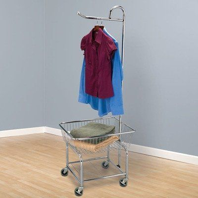 Laundry Butler With 3 In Wheels By Household Essentials. $74.97. 3  Industrial Wheels.