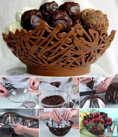 DIY Edible Chocolate Bowl | Love it ? Create your own