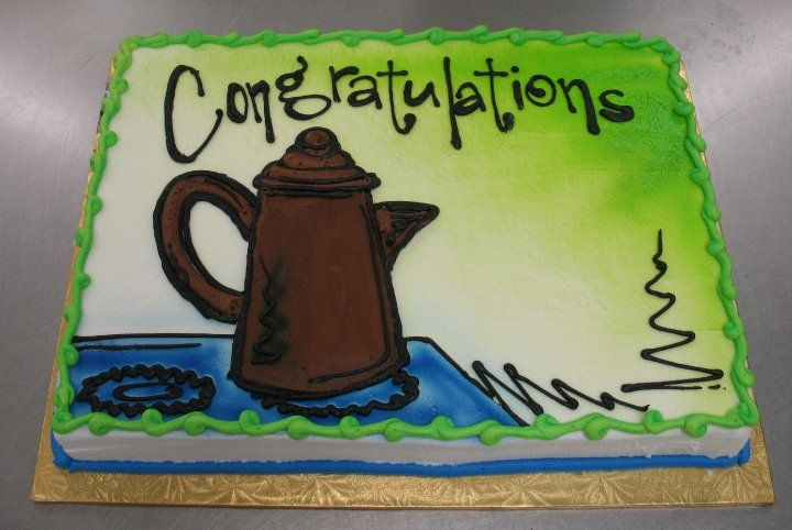 Congratulations Sheet Cake By Stephanie Dillon Ls1 Hy Vee