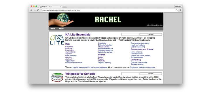 RACHEL-Pi How To Guide - RACHEL Friends
