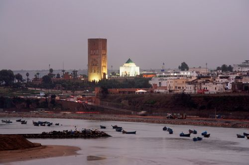 Rabat, Morocco's capital city, North Africa