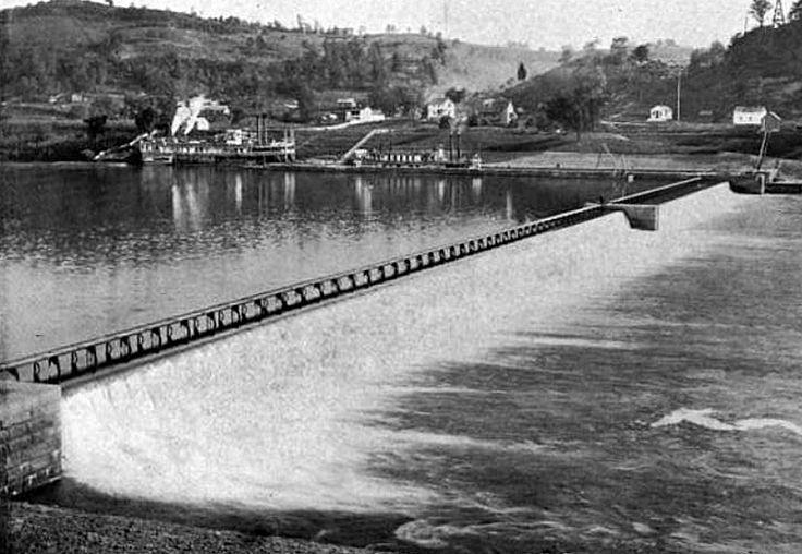 Wicket Dam On The Kanawha, Lock 11, near Point Pleasant