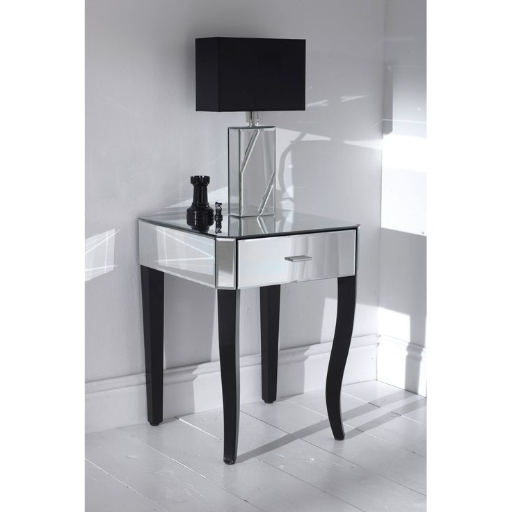 25 Best Ideas About Mirrored Side Tables On Pinterest Mirror Furniture Furniture