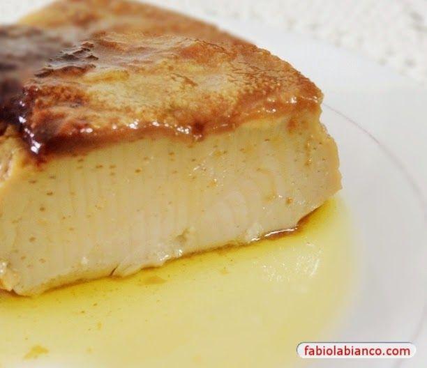 Pudim Capuccino Dukan | Fabíola Bianco (ovo, leite em pó, amido, leite, cacau, cafe )