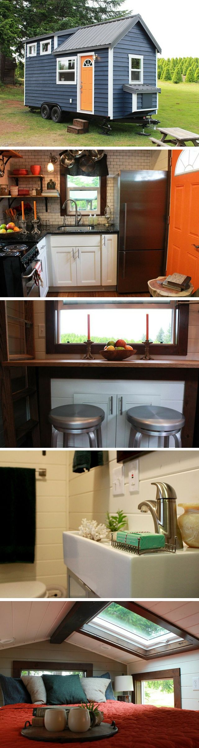The Craftsman tiny house by Tiny Heirloom