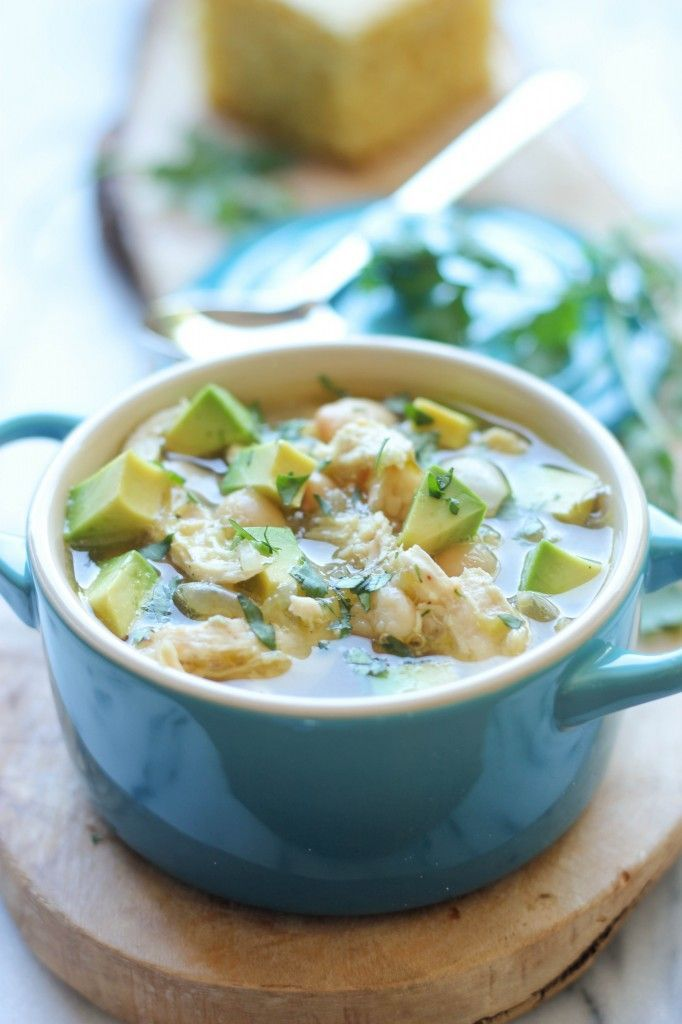 White Chicken Chili | Savory Soups | Pinterest