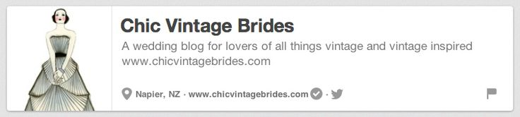 Chic Vintage Brides | The 25 Best Pinterest Accounts To Follow When Planning Your Wedding