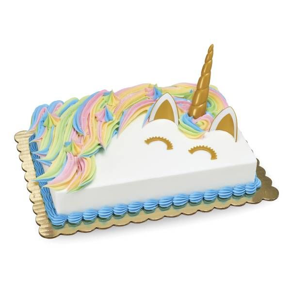 Unicorn Magic Cake From Publix Barbie Birthday Girls Sheet Cakes
