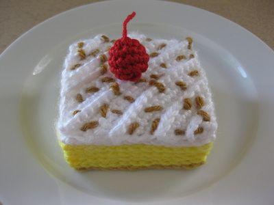 Gallery - Crochet Cake Sachets