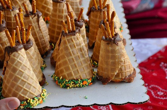 Teepee cones image from Pepper and Pollywogs.