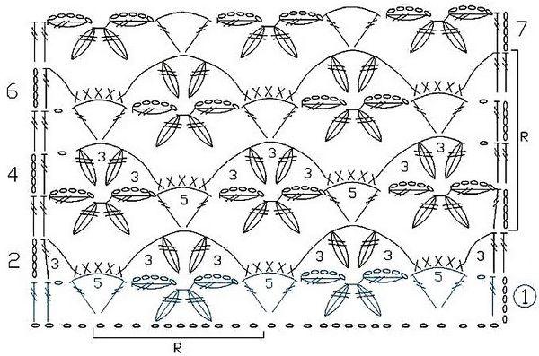 Схема узора №4