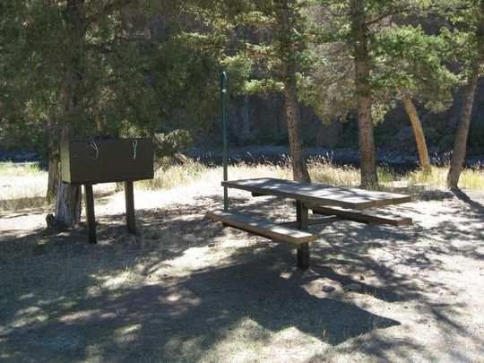 Clearwater Campground, Wapiti, WY