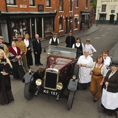 Black Country Living Museum, a fantastic day out learning about the Black Country in times gone by. Visit a Victorian school, a coal mine, various industrial and agricultural sites, ride a tram, eat traditional fish and chips and get a pint of mild. www.bclm.co.uk