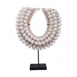 White Shell Display Necklace