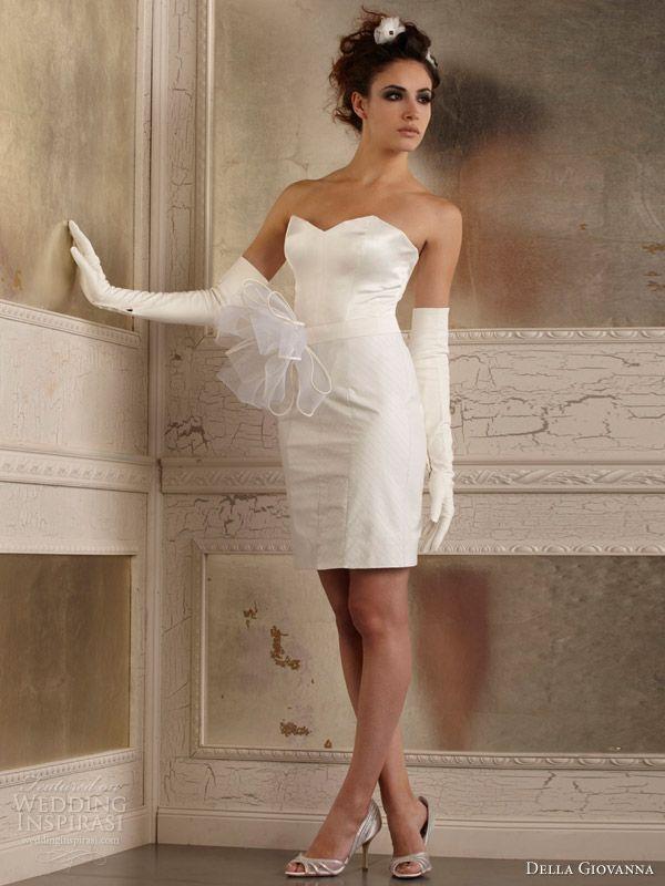 Della Giovanna Fall 2014 Wedding Dresses   Short wedding ...