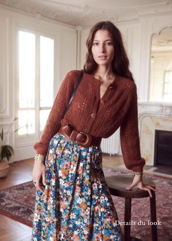 Inspiration Silhouette D & amp; Automne Gipsy / Sézane Herbst 2018