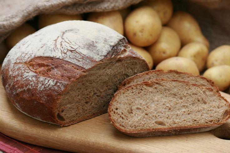 Kartoffelbrot - Resteverwertung