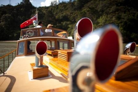 Lady Gay, a 47ft classic motor launch, is a unique piece of New Zealand's maritime history.
