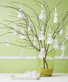arbres à dragées facile à faire et du meilleur effet!  Trouvez des #dragees sur notre site: http://www.feezia.com/univers/dragees/dragees.html
