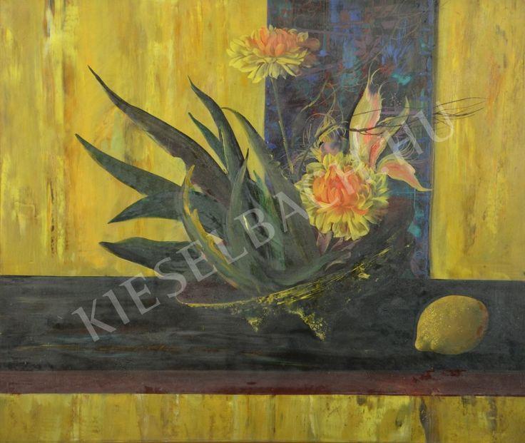 Still-Life with Flowers - György Korda