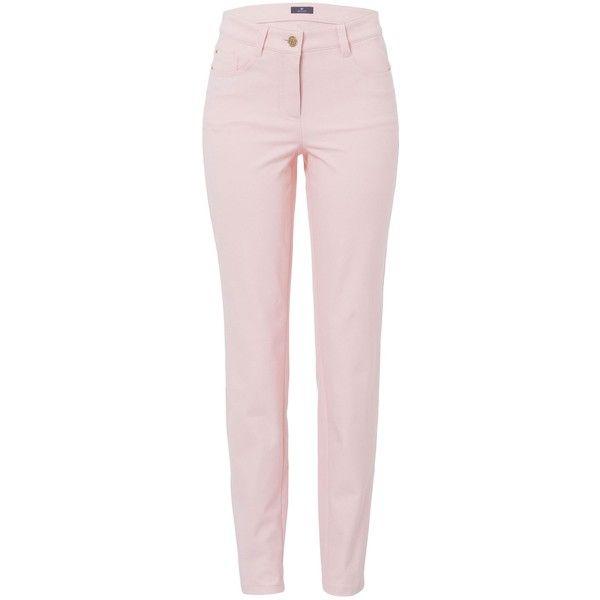 Basler Julienne Skinny Jean ($210) ❤ liked on Polyvore featuring jeans,  pink, - Best 25+ Pastel Jeans Ideas On Pinterest Light Pink Pants
