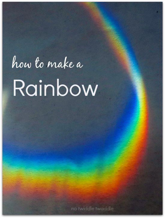 Lesson Plan. Have students tell you all they know about rainbows and then do an experiment on making one. (Find-a-Rainbow Day-April 3rd)