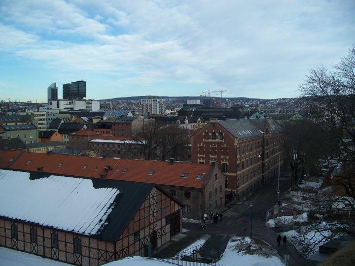 Oslo rooftops
