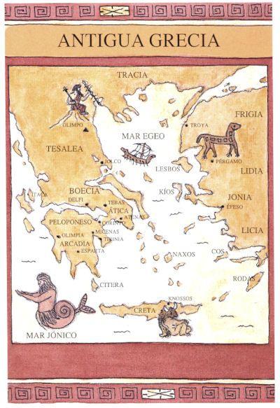 mapas griegos antiguos - Buscar con Google