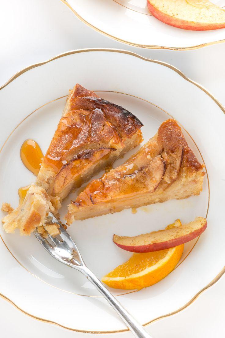 torta di mele e yogurt light senza uova senza burro senza glutine senza zucchero alla cannella |vegan glutenfree eggfree cinnamon yogurt apple cake