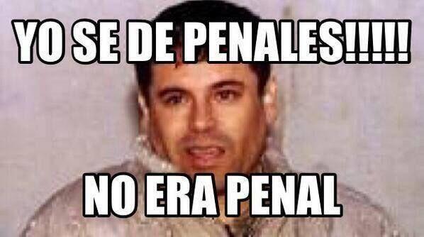 Y lo dice el experto No Era Penal  jajaja  #memes #FIFAWorldCup2014