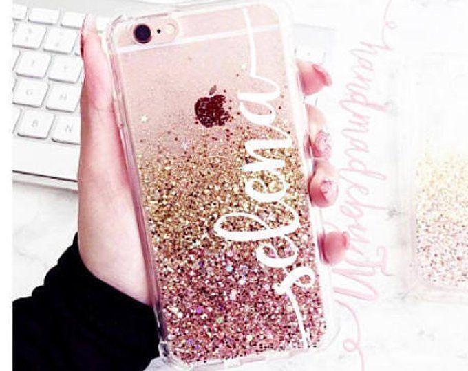 Rose Gold Glitter Phone Case Iphone 7 Case Iphone 7 Plus Case