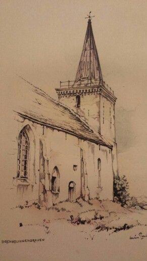 Kerk Hoorn / Anton Pieck