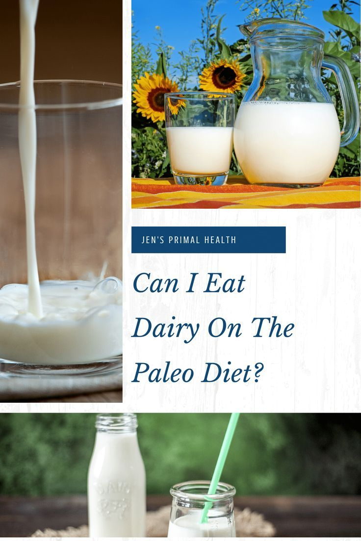 can you drink milk with paleo diet