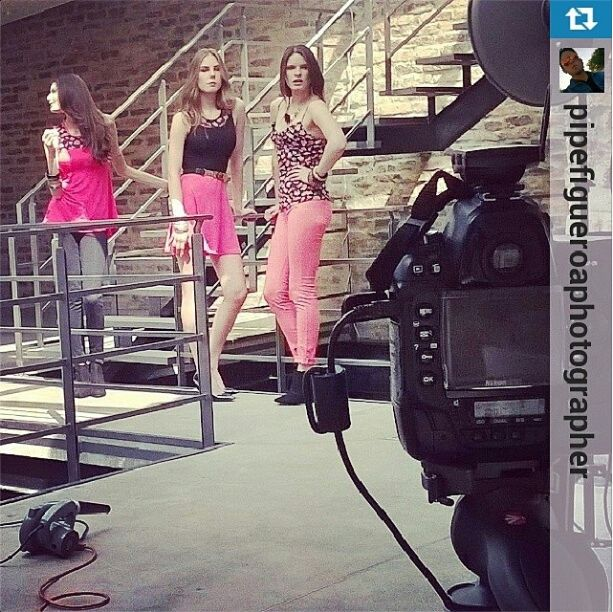 #Backstage Photoshoot @dupreecolombia. Con Equipo Dupree