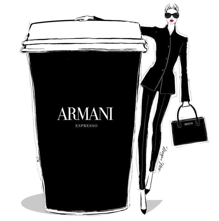 'Armani Espresso' von @meganhess_official | Seien Sie inspirierend ❥ | Mz. Manerz: Gut gekleidet zu sein, ist eine schöne Form von Selbstvertrauen, Glück und Höflichkeit