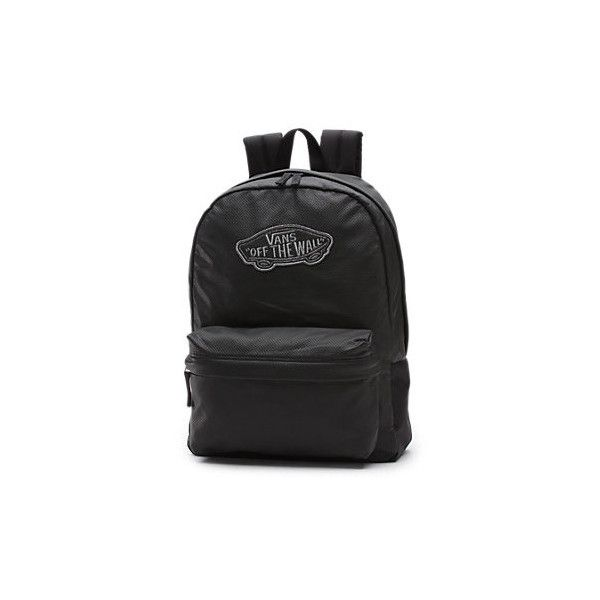 Realm Backpack (140 BRL) ❤ liked on Polyvore featuring bags, backpacks, backpack, knapsack bag, patch backpack, vans backpacks, rucksack bags and vans bags