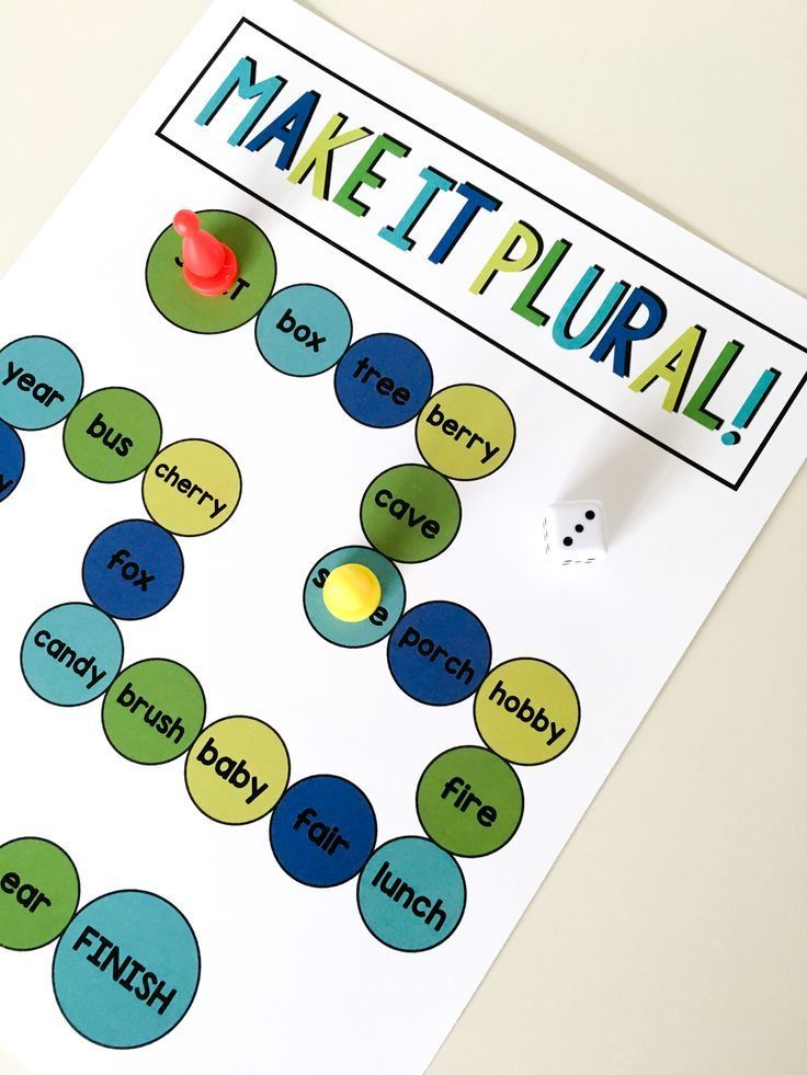 Plurals board game for guided reading! This game comes from the guided reading Level L pack. It includes guided reading lesson plans and printable books, comprehension and writing resources, phonics activities, decoding strategy visuals, lesson plan templates, assessment tools, and more! Great for 1st or 2nd grade guided reading groups. $