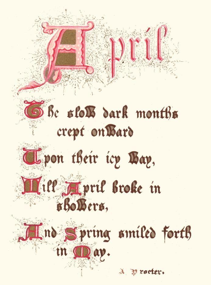 1000+ images about April on Pinterest | Hello April, April