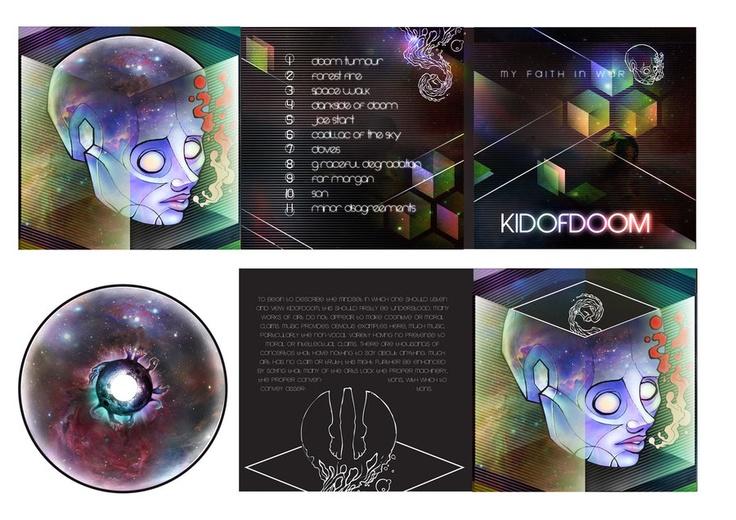 KIDOFDOOM CD layout by ~Peter709