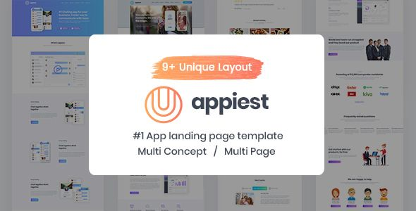 Appiest \u2013 Software And Mobile App Landing Page HTML Template Appiest