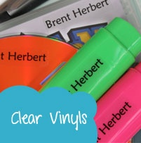 Clear vinyl labels perfect for moms and dad available from online store:  www.kidslabels.co.za