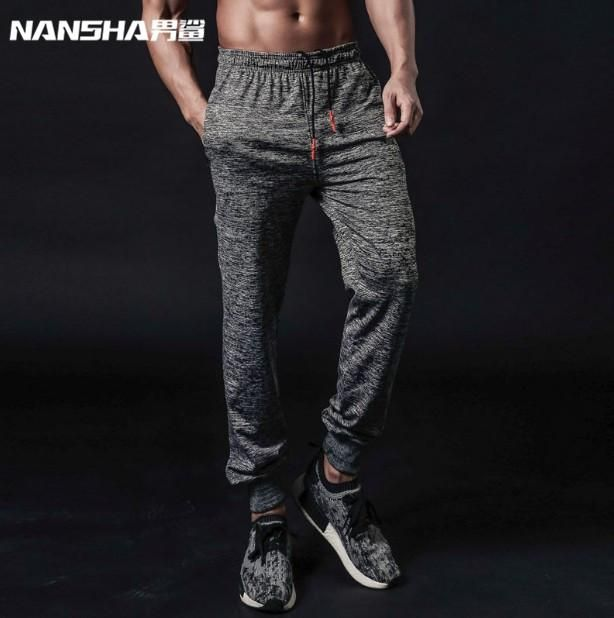 NANSHA Brand High Quality Jogger Pants Men Fitness Bodybuilding Gyms Pants For Runners Clothing Autumn Sweat Trousers Britches