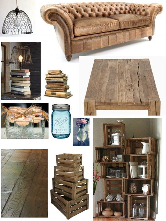 Sustainable Design Mood Board for 1 room by HomeAndPartyStylist, £115.00