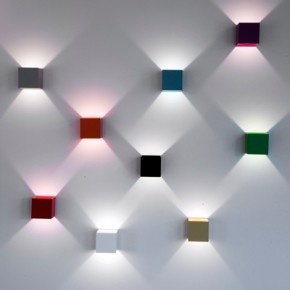 Colored light bulbs would be cooler.